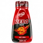 6PAK SAUCE ZERO HOT CHILI 500ML