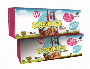 WHOOPY WHEY FIT COOKIES CHOCOLATE CRANBERRIES 135G