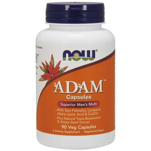 NOW FOODS ADAM 90 VEG KAPS.