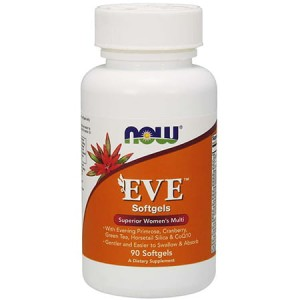 NOW FOODS EVE - SUPERIOR WOMEN'S MULTI 90 SOFTGELS