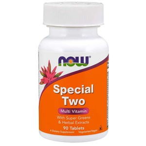 NOW FOODS SPECIAL TWO MULTI VITAMIN 90 TABS.