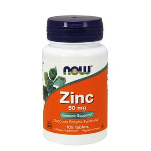 NOW FOODS ZINC 50mg 100 TAB.