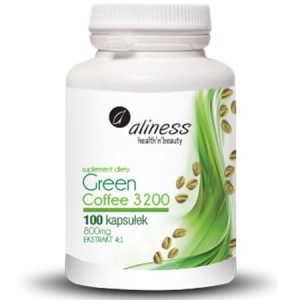 ALINESS GREEN COFFEE 3200 100 KAPS