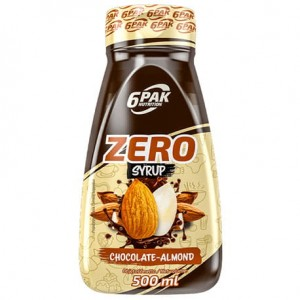 6PAK SAUCE ZERO CHOCOLATE ALMOND 500ML