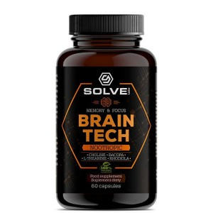 SOLVE LABS BRAIN TECH 60 KAPS.