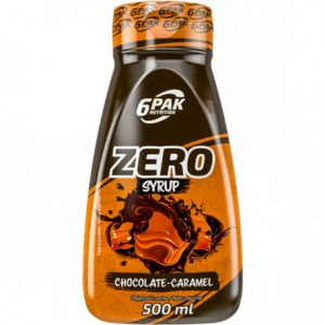 6PAK SAUCE ZERO CHOCOLATE CARAMEL 500ML