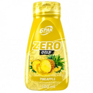 6PAK SAUCE ZERO PINEAPPLE 500ML