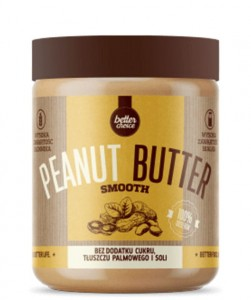 TREC BETTER CHOICE PEANUT BUTTER SMOOTH 500G