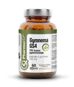 PHARMOVIT GYMNEMA GS4 75% 60 KAPS