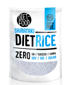 DIET-FOOD MAKARON SHIRATAKI KONJAC RICE 200G