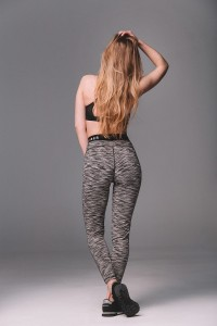 "MUSCLE FIBER LEGGINSY ""GREY DEAL"" TYPU BAND"