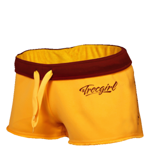 TREC WEAR SHORT PANTS TRECGIRL 001 YELLOW