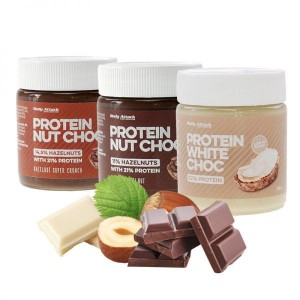 BODY ATTACK PROTEIN NUT CHOC 250G
