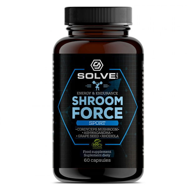 SOLVE LABS SHROOM FORCE 30 KAPS.