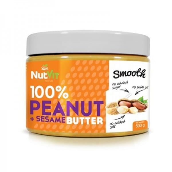 NUTVIT PEANUT BUTTER + SESAME 500G