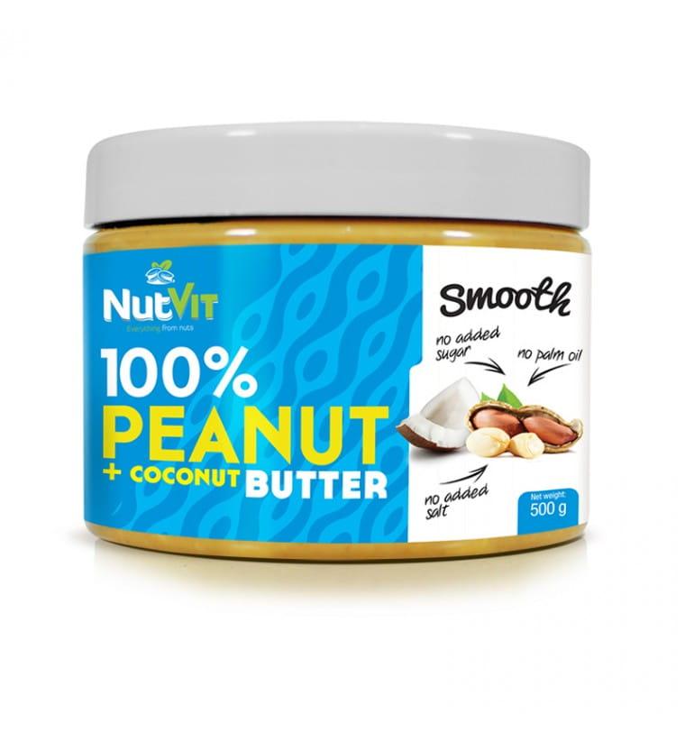NUTVIT PEANUT BUTTER + COCONUT 500G