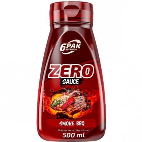 Image of 6PAK SAUCE ZERO SMOKE BBQ 500ML