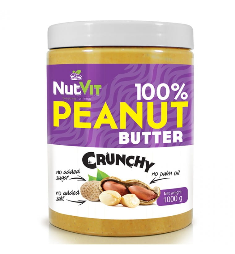 NUTVIT PEANUT BUTTER CRUNCHY 1 KG