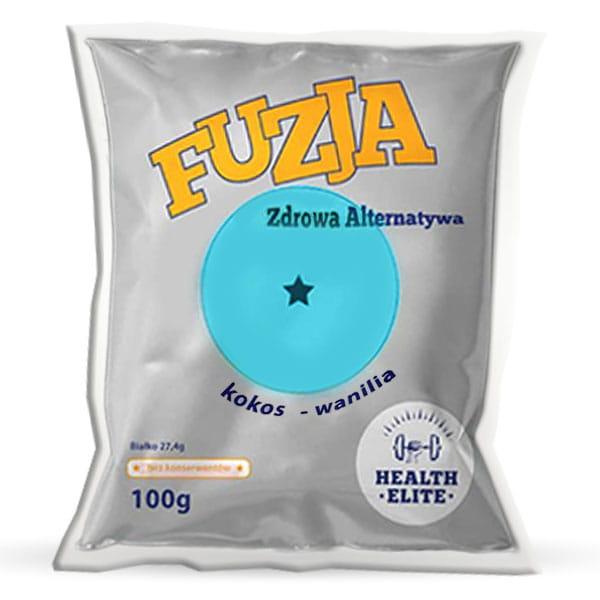HEALTH ELITE BATON FUZJA KOKOS-WANILIA 100G