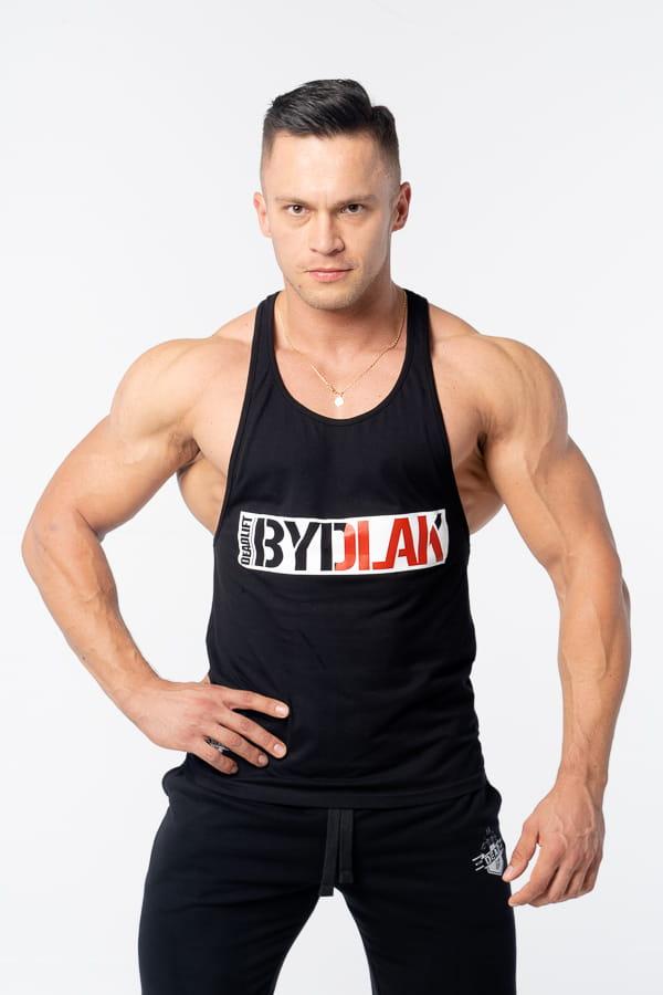 """Image of DEADLIFT TANK TOP MĘSKI """"BYDLAK"""" CZARNY"""