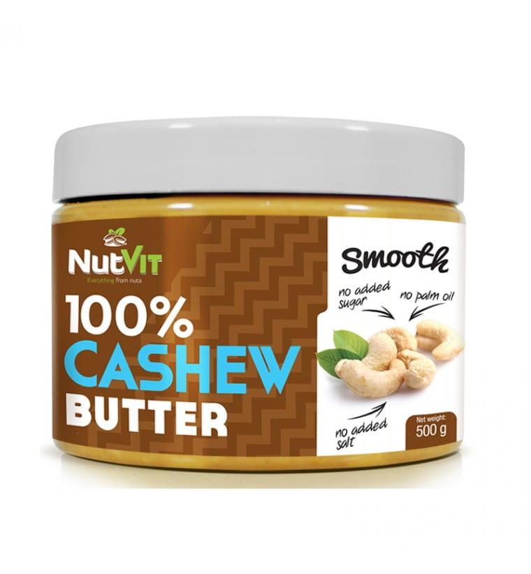 NUTVIT CASHEW BUTTER SMOOTH 500G