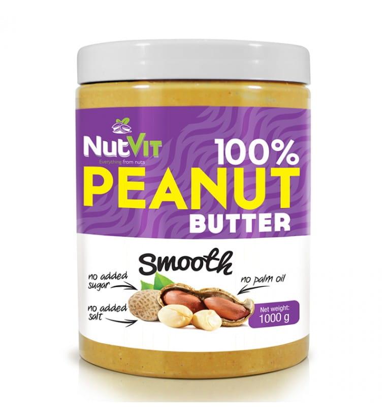 NUTVIT PEANUT BUTTER SMOOTH 1 KG