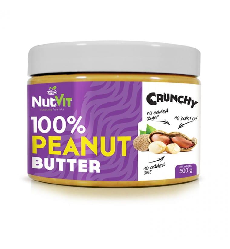 NUTVIT PEANUT BUTTER CRUNCHY 500G