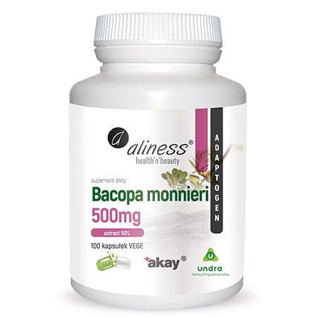 ALINESS BACOPA MONNIERI EXTRACT 50% 500 MG 100 KAP
